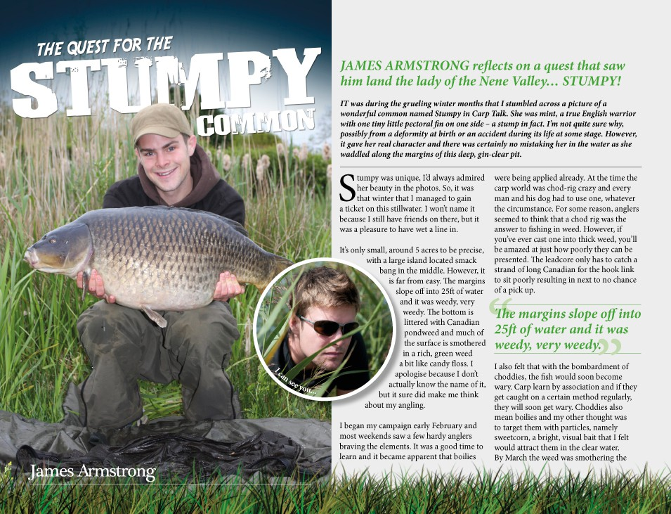 The Quest For Stumpy - James Armstrong