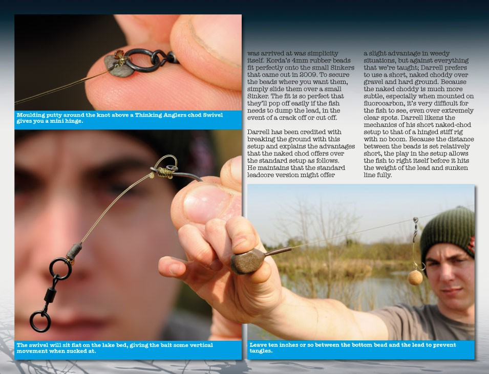 Learn to tie the Naked Chod rig