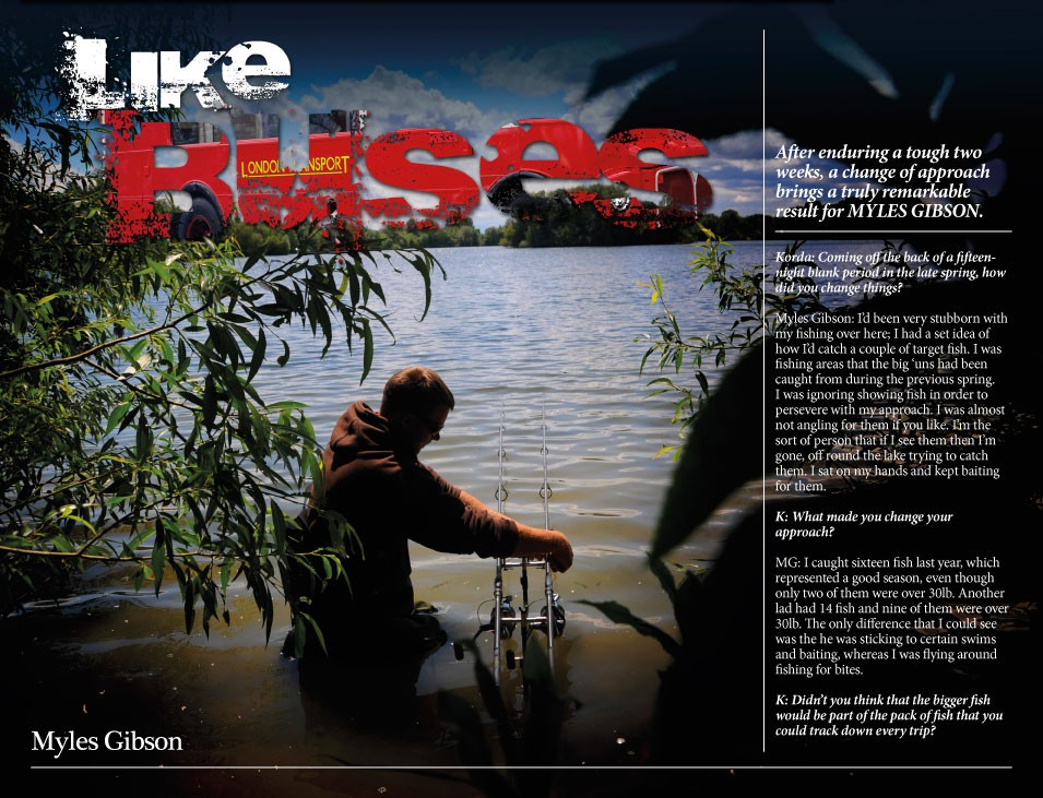 On The Bank - Myles Gibson