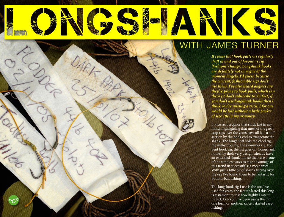 Why I love Longshanks - James Turner