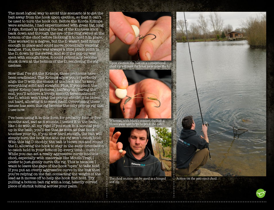 The Anti-Eject Chod Rig - Mark Bryant