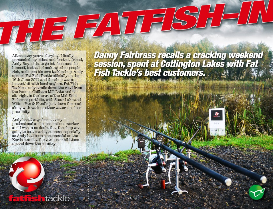 Fat Fish Fish-In - Danny Fairbrass