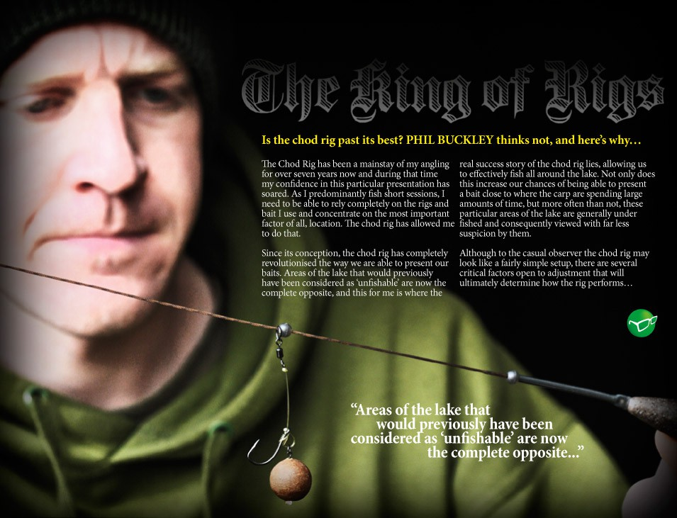 Chod-Rig Tips - Phil Buckley
