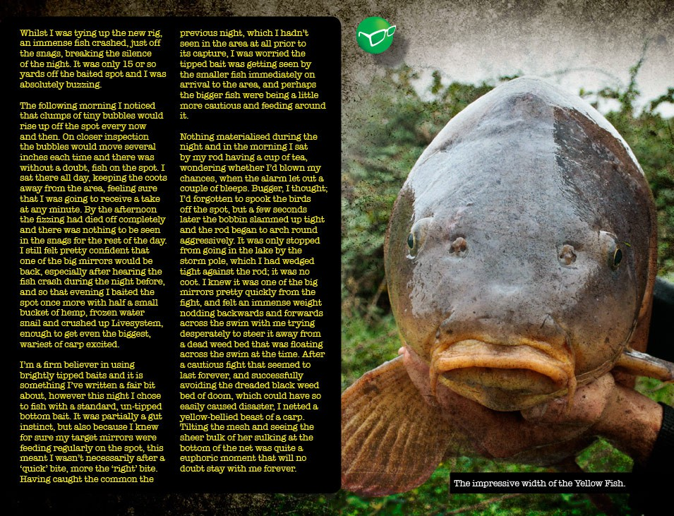 Big Carp Captures - Duncan Maclean