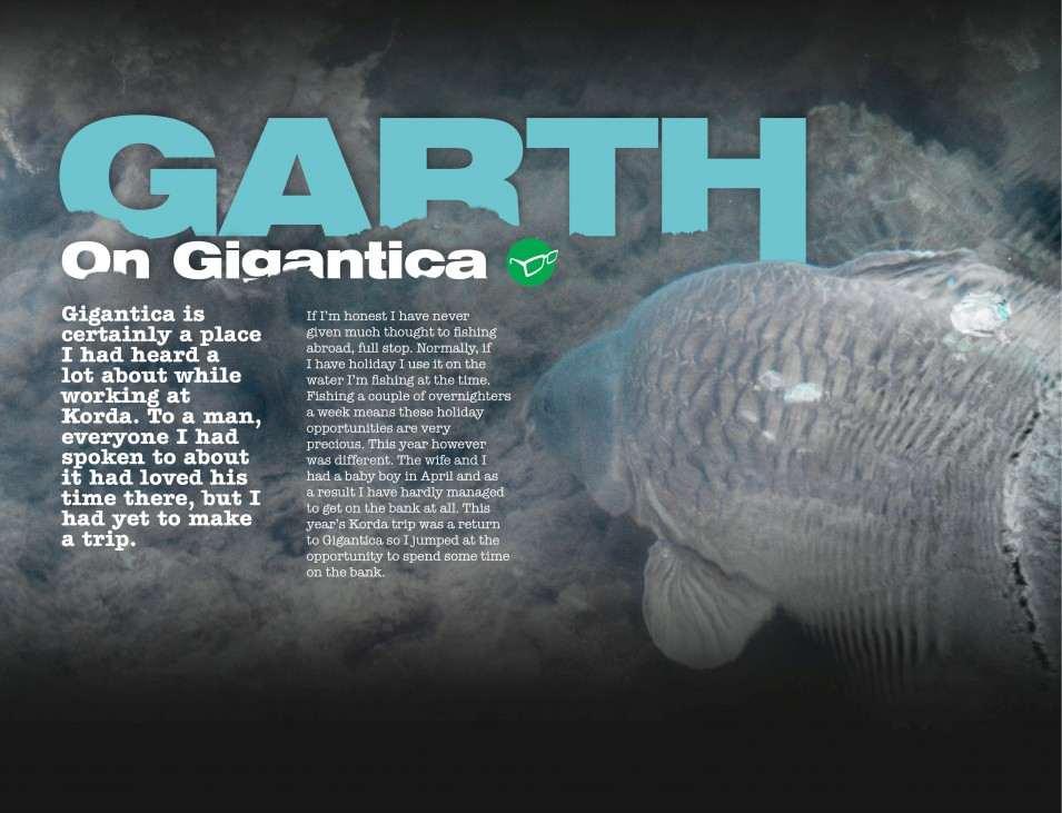 Garth on Gigantica