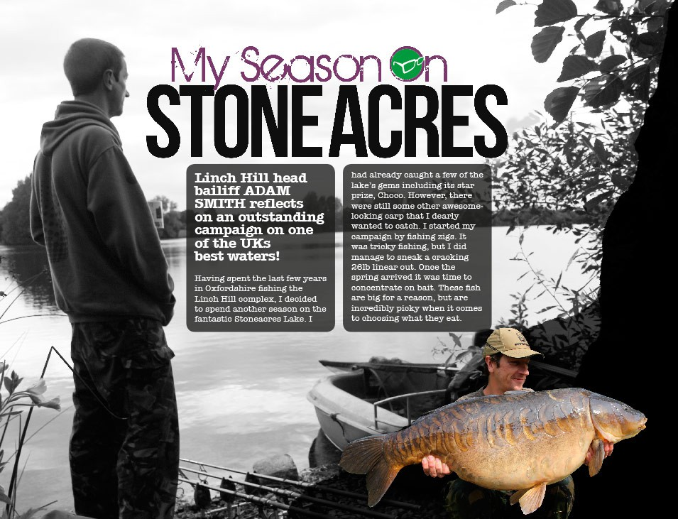 My Stoneacres Season - Adam Smith
