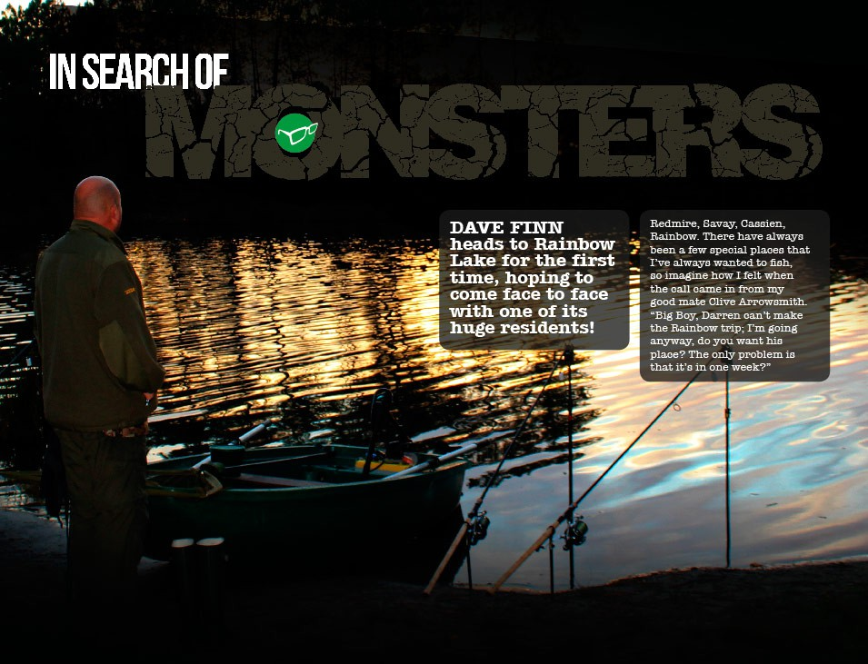 In Search Of Monsters - Dave Finn