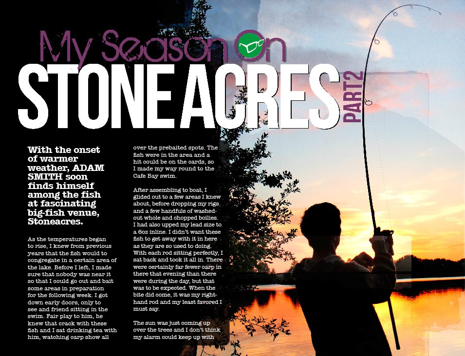 My Stoneacres Season Part Two - Adam Smith