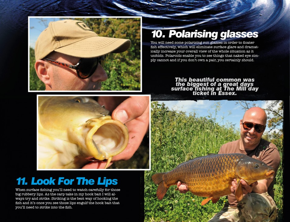 Dave Levy gives a masterclass on catching them off the top!