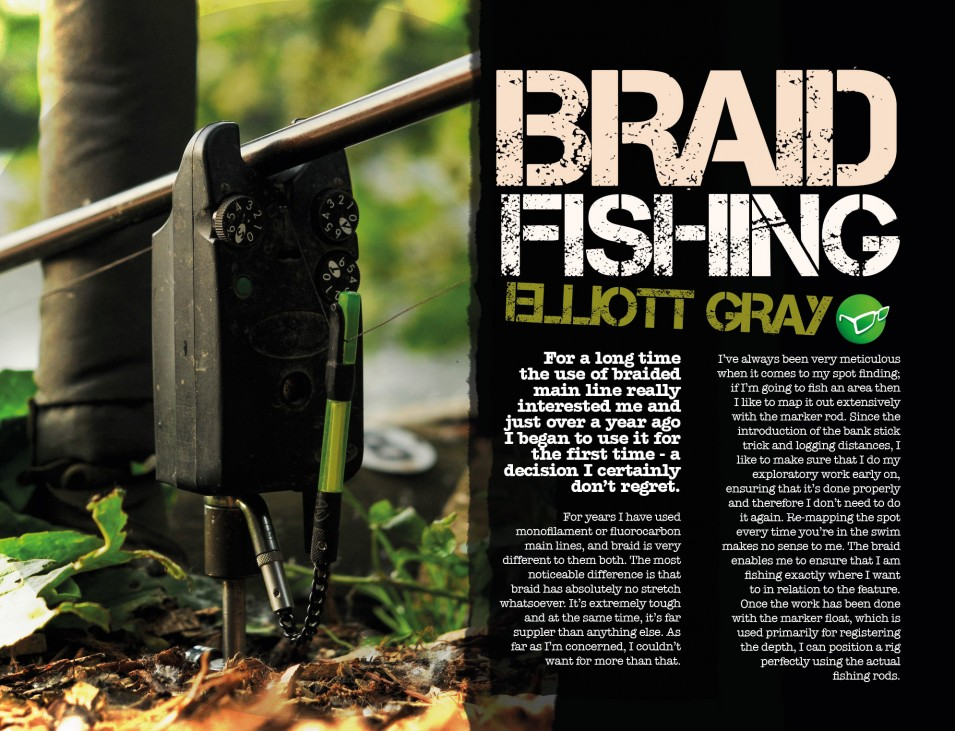 """Braid Changed My Fishing!"" Elliott Gray"