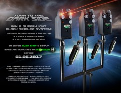 WIN a super-light BLACK SINGLEZ set up.