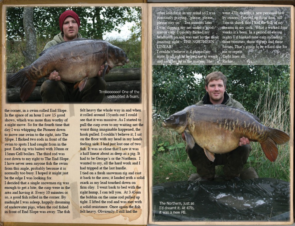 Carp Diary -           Richie Lofthouse