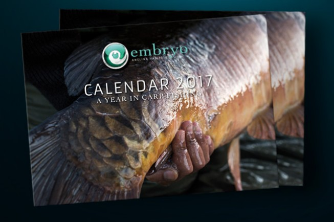 The new Embryo Angling calendar