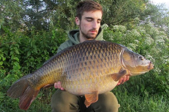 A cracking 32lb common for Will