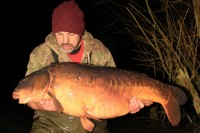 Dean caught all the big carp in the lake