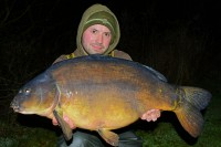 Biggest fish of the session at 28lb 8oz