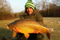 Any carp is welcome during the winter