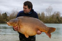 The biggest fish in Gigantica for Steve Rocke