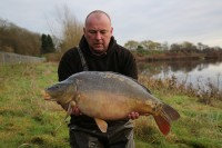 One of the new fish, a 24lb 8oz mirror