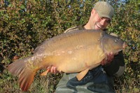 A 37lb 7oz mirror known as the Pearly Lin