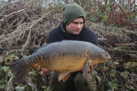 A very welcome winter carp