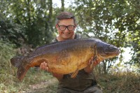 Danny Fairbrass with a Gigantica Main Lake stunner
