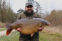 A magnificent 47lb common known as Lennies