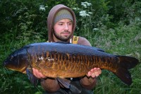 A beautiful scaly mirror