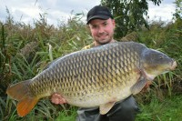 The bigger of a brace of 35lb-plus commons
