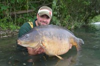 Lawrence's first trip France produced a 47lb linear
