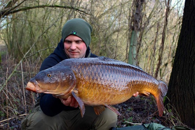 Winter carp don't get much better than this