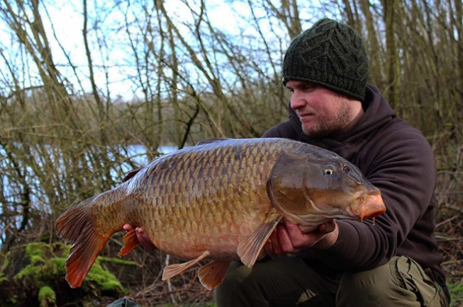 Craig fished a 24 hour session at Cranwells Lake