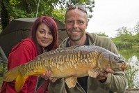 Dean and Jess with a surface-caught cracker