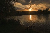 Sunset over Fryerning Fishery