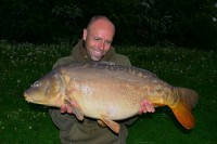 A 31lb 12oz mirror from a local lake