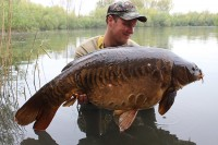 Carp don't come much better than this cracker known as Scaly