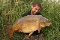 Ali Hamidi with one of his recent catches