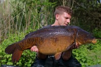 A superb 35lb mirror for Matthew Jackson