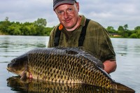 The lake had already produced a PB common for Ed