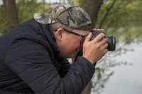 Embryo Angling founder Danny Fairbrass is a keen photographer