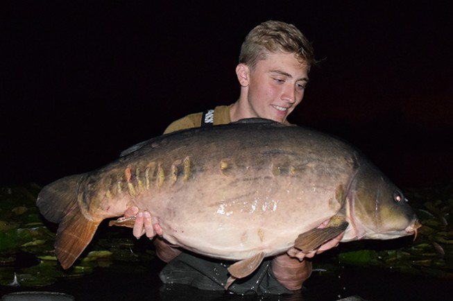 One of the biggest fish in the lake