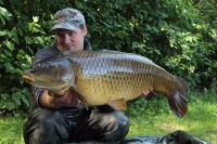 Craig was delighted with this 34lb 12oz common
