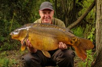 His short time on the water yielded eleven carp