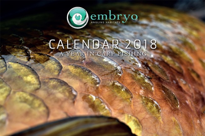 The 2018 Embryo Angling Habitats calendar