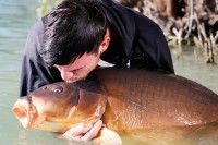 Seeing his mate Mark Bryant with this fish
