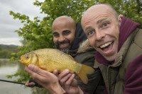 Dave Coldwell soon got into the fishing