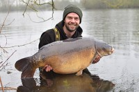 A stunning 44lb 14oz mirror for James Salmons
