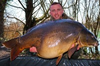 This 48lb 12oz was part of a double take