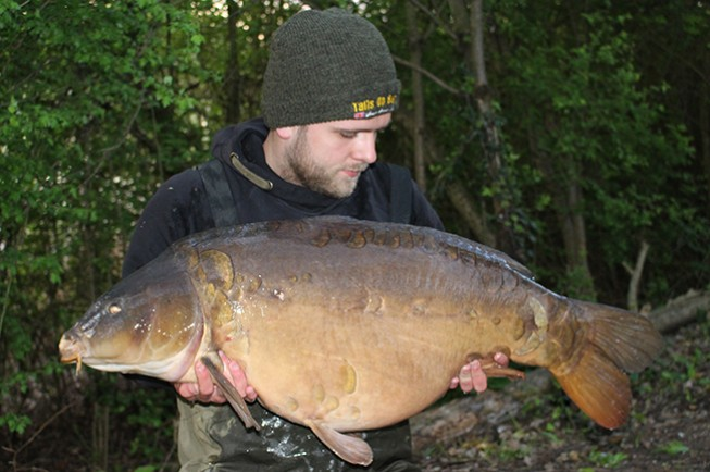 An overnight session produced this cracker for Luke