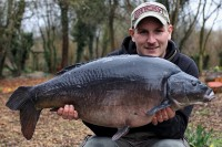 An incredibly dark old 29lb mirror